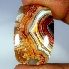 38.50Cts. Natural Designer Red Crazy Lace Agate Cushion Cabochon Loose Gemstones #Handmade