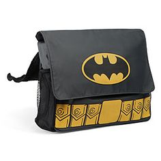Yep, this is the diaper bag I am getting for my baby. :) ThinkGeek :: Batman Diaper Bag