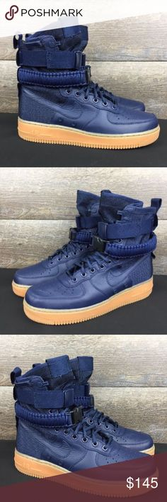 6ae30153a5b729 Nike Air Force 1 Special Field SF AF1 Style   864024-400 Brand new Without