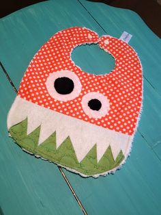 Monster Bib for Baby/Toddler