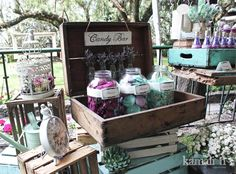 www.kamalion.com.mx - Mesa de Dulces / Candy Bar / Postres / Vintage / Wedding…   https://lomejordelaweb.es/