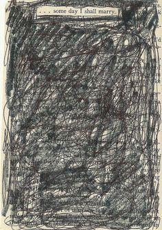 Book Page Art 4 by agirlnamedleney on Etsy, $10.00