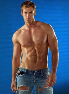 William Levy could be Christian Grey...he's got the right jeans for the Red Room of Pain!