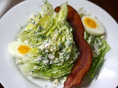 Wedge Salad With Ranch Dressing and Crumbled Blue Cheese | Serious Eats : Recipes