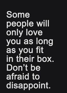 #Truth..  Never be afraid to let go of people who can only love you when the condition is right for them. You don't deserve any of that.
