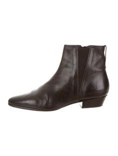 Étoile Isabel Marant Leather Ankle Boots