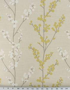 Evelynne Lemongrass | Online Discount Drapery Fabrics and Upholstery Fabric Superstore!
