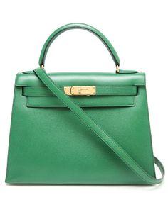 VINTAGE HERMES   1991 Vintage Leather Kelly Handbag