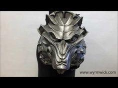 Wolf Head Pauldrons video