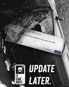 Powerful Ad against using your phone while driving