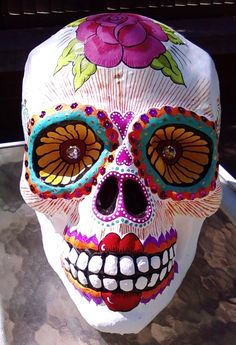 Large calavera (almost finished) that I am doing for a collector.