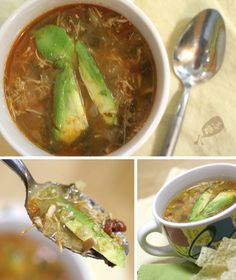 Mexican Chicken Lime Soup::Make w/vege 'chicken strips'(tofu), or leave meat out entirely.