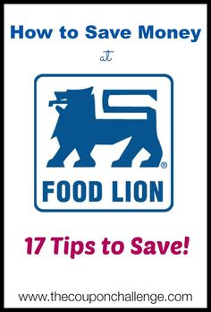 How to Save Money at Food Lion -  While Food Lion doesn't not double coupons, they do have good sales and promo's that can save you money.