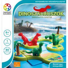 Dinoszauruszok, A varázslatos sziget (Smart Games, készségfejlesztő játék, 6-10 év)