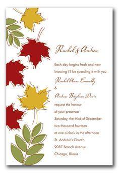 fall invitations - Google Search