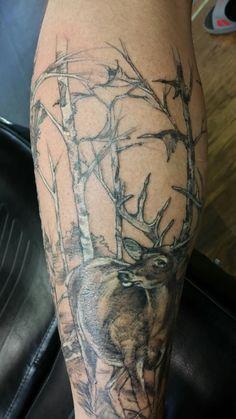 Hunting tattoo
