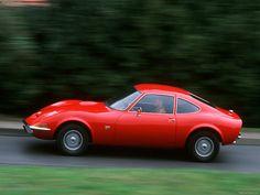 1970 Opel GT. Friend of mine in high school had one. Loved that car. Like a mini-Vette.