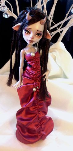Made to Order Custom Monster High Doll by angelcardart on Etsy