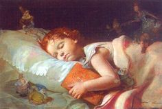john everett millais - Sweet Dreams of Snow White