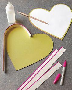 Valentine Candy Boxes - Martha Stewart Holiday & Seasonal Crafts