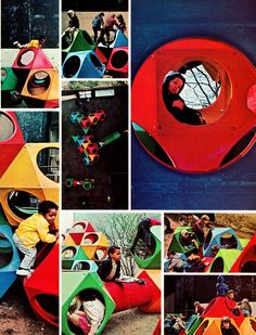 A nostalgic collection of New York playgrounds that have disappeared. From Jacob Riis and all the way to Central Park, here's is just a small glimpse back into how carefree the 1960′s were for a child's playplace.