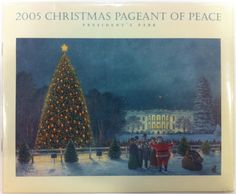 Each year since the first Christmas Proclamation by President Calvin Coolidge in 1923, the White House has been bedecked with holiday cheer in the form of boughs, berries, trees, treats and wonderful Christmas cheer.   The public is invited to view the decorations and a program is issued each year to identify the many artists, artisans, and public support for each public room of the White House.  This program is from 2005.