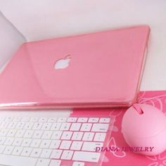 Pink Mac und Maus – Amanda Curry – Join the world of pin Pink Love, Cute Pink, Pretty In Pink, Pastel Pink, Pink Purple, Tout Rose, Accessoires Iphone, I Believe In Pink, Everything Pink