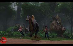 Jurassic Park 1993, Jurassic Park World, Skull Island, The Lost World, Prehistoric, Paleo, Wildlife, Camping, Painting
