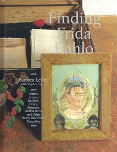 Down an arched stone corridor in a small back room sat two wooden chests, a metal trunk, a wooden box, and a battered old suitcase. On the lid of the suitcase was the name Sra. KAHLO DE RIVERA. The shop owners opened the five cases to reveal a jumble of objects, including paintings, drawings, keepsake boxes, annotated books, clothing, a diary, and other assorted items and ephemera.