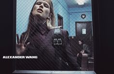 Alexander Wang Campaign FW 2014-15 - Anna Ewers, Vanessa Moody, Katlin Aas, Lexi Boling, & Kat Hessen by Steven Klein