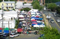 The Charlottesville City Market is an absolute favorite for locals and visitors alike!