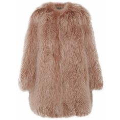 Marc Jacobs Fox coat ($2,270) ❤ liked on Polyvore featuring outerwear, coats, jackets, fur, marc jacobs, brown, short, marc jacobs coat, short coat and fox coat