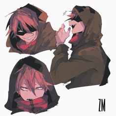 画像 Cute Art Styles, Art Memes, Dnd Characters, Anime Artwork, Character Design Inspiration, Yandere, Manga, Aesthetic Anime, My Hero Academia