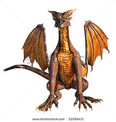 dragon 02 - stock photo