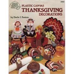 Plastic Canvas Thanksgiving Decorations