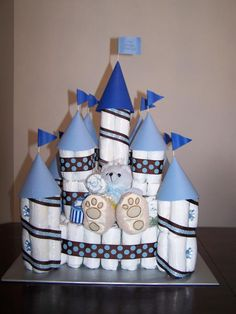 Castle pamper cake royal