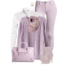 Pastel Purple for Fall