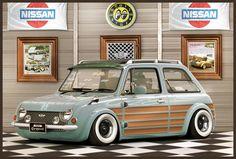 Nissan Pao Old School