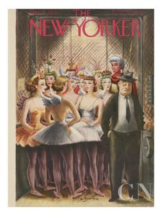 The New Yorker Cover - December 11, 1943 Poster Print by Constantin Alajalov at the Condé Nast Collection