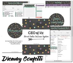 Direct Sales Success Planner by CEO of Me