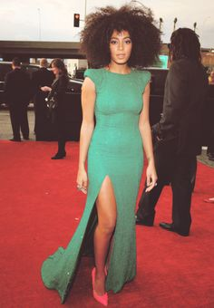 Solange Knowles. Babe.