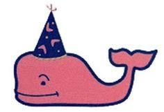 Vineyard vines birthday whale
