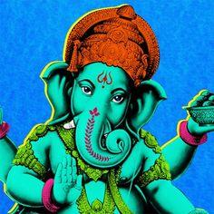 Pop Art - Ganesha