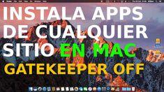 Permitir aplicaciones descargadas de cualquier sitio Mac OS Sierra desarrolladores no identificados https://youtu.be/_8zxQavAggQ #iphone #apple #ios Cómo permitir instalar aplicaciones descargadas de cualquier sitio Mac OS Sierra de desarrolladores no identificados o de terceros. Deshabilitar Gatekeeper y podrás realizar la instalación de la aplicación que quieras descargada de internet. Guía con la que instalarás apps descargadas fuera de la Mac de Sierra App Store.  Truco con el que…