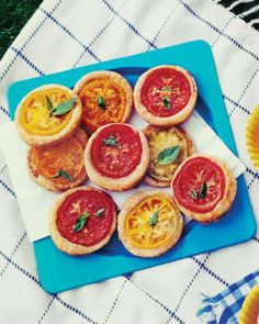 Tomato Tartlets Recipe