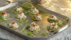 This recipe for crab tortillas with lime and yoghurt from Claire Hanley makes for the perfect festive canapé. Christmas Canapes, Christmas Recipes, Salmon Caviar, Fried Tortillas, Greek Yoghurt, Twice Baked Potatoes, Crab Meat, Wine Recipes, Catering