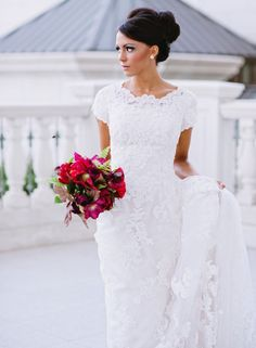 2013 Wedding Trends: Wedding Dresses with High Necklines ---some gorgeous dressing here