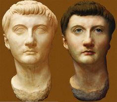 EXCELLENT RECONSTRUCTION OF DRUSUS MINOR In Ancient Times, Ancient Rome, Ancient Art, Ancient History, Famous People In History, Roman Man, Roman Sculpture, Roman History, Roman Emperor