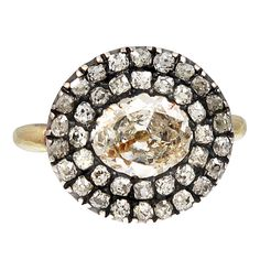 1STDIBS.COM Jewelry & Watches - Fantastic Antique Georgian Diamond Cluster Ring - Moylan-Smelkinson/The Spare Room