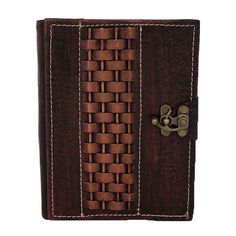Raised Weaving Pattern On A Brown Leather от ALittlePresent